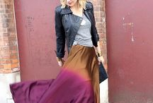 to the max(i) / Styling maxi skirts & dresses.