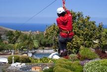 Flying Pueblochico / zipline #Tirolina #Pueblochico #Tenerife