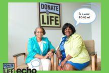 Donate Life ECHO / #DonateLifeECHO campaign