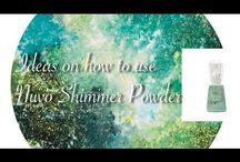 shimmer powder techniques