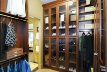 dream closets and storage / by Nancy Suttenberg