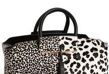 Bolsas de couro e estampa animal / Bolsas de couro e estampa animal Leather and animal print handbags