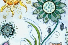 beautiful colors/ paintings/ drawings ...