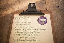 List of wonderful stockists! / This is a list of our local stockists to Oxford.