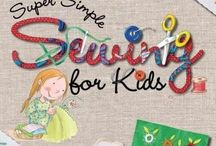 Books to Teach your Kids to Sew / Books to help you and your child learn to hand sew