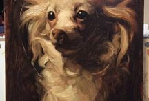 Fur love in paint