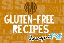 Gluten Free Recipes / Healthy Gluten-Free Recipes  / by Jacqui Blazier, www.jacquifit.com