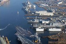 Where I was stationed or toured while in the Navy, 1976 to 1999