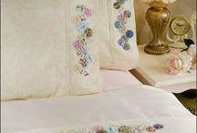 roupa de cama bordado