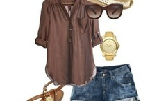 Summer outfits / by Stephanie Jarvis