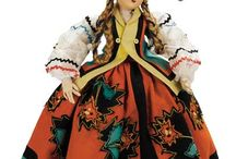 "Dolls: National Costume / Dolls in national dress. See ""National dress"" for people in costume."