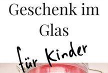 2 Geschenk Glas