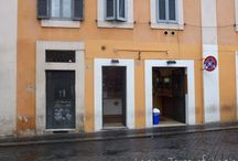 Favourite Restaurants in Rome / Occasionally we manage to escape from the office and we usually head to one of these delightful eateries! Also included are bars, deli's & take-away.