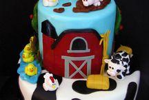 3rd bday cake