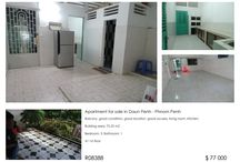 3 Bed Apartment for sale in Daun Penh / Apartment for sale in Daun Penh, Phnom Penh, Cambodia