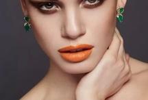 orange lip / by BRIDEface