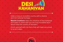 Desi Kahaniyan / What is it that makes India truly incredible? Stay tuned as we share some mind-blowing facts that will truly make you feel proud to be an Indian. #manishcreations #desikahaniyan