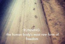 *running*