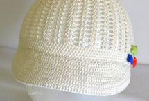 Heklede hatter