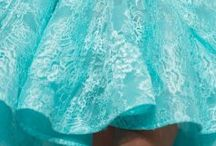 DRESSES TURQUOISE