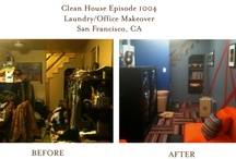 Before and After... / I have worked with many different families over the years who have gotten themselves into a state of clutter. However, with dedication I have been able to steer them toward functional living. This page is dedicated to showing you how you can transform your spaces, even if you feel overwhelmed. Some of these makeover were showcased on television shows. Other images on this page are transformations that I created for families who needed an upgrade in style and  functionality.