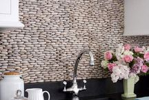 Backsplash ideas / by Seaside Interiors