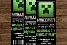 minecraft birthday party / by Michelle Murphy