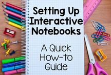 Interactive Notebooks / Interactive notebooks are a great way to organize student's learning throughout the year!