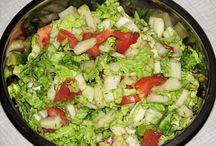 Surówki sałatki