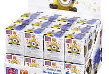 Mega Bloks Buildable Minion Blind Packs Series I Reviewed / Mega Bloks Buildable Minion Blind Packs Series I Reviewed  Everyone's favorite Minions are about to unleash some major chaos with the Mega Bloks Despicable Me™ Buildable Minion Blind Packs Series I packs. Build your own loyal following and collect six popular Minion characters. They come in a blind pack, so you never know which one you will get. You can customize your Minions and mix and match overalls, goggles, accessories, even arms and feet. Collect them all to build your own mischief!
