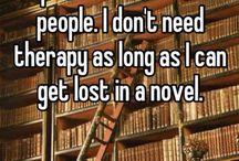 Books glorious books.