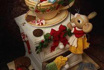 Winter Design Cake