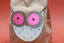 Sacchetti di carta decorati