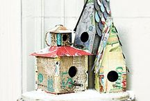 Birdhouse Collection / by Shera Raborn