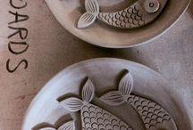 Ceramika -ryby
