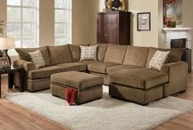 Super Sectionals / Sectional seating for living rooms or family rooms.