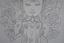 Buddha artishions / Ideas for drawing