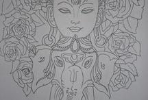 Buddha artishions / Ideas for drawing
