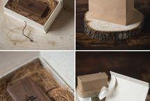 Wood box idea for pendrive