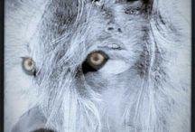 women wolf