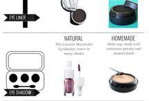 home made natural makeup