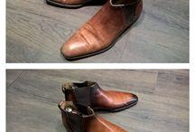 rénovation / rénovation de souliers