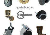 Meubelwielen / Wielen en meubelwielen