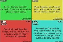 Life Hacks / Coz who in their right mind wouldn't want to make life easier?