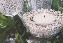 Candle centerpieces / Candle centerpieces