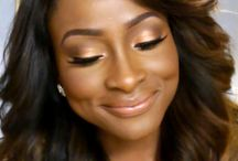 Makeup For Brown Skin / Foundations, concealers, eye shadow, blush, bronzer, hot makeup looks for brown-skinned women!