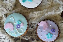 Cupcakes de Borboletas