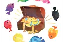 El mar | Ocean Theme for Preschool / Ocean activities and crafts for preschool.
