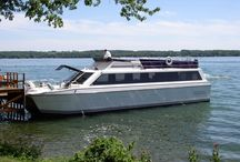 Beer Cruise / Cruise around beautiful Green Lake on our 60-foot catamaran-style yacht, the Escapade. Take in the panoramic views as you sample a variety of great beer from a featured brewery and enjoy light appetizers. / by Heidel House Resort & Spa