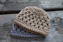 Baby, Kid & Adult Hats - Crochet / Who doesn't love a cozy hat!